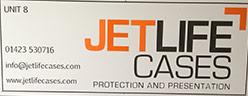 Signs 'Jetlife Cases'